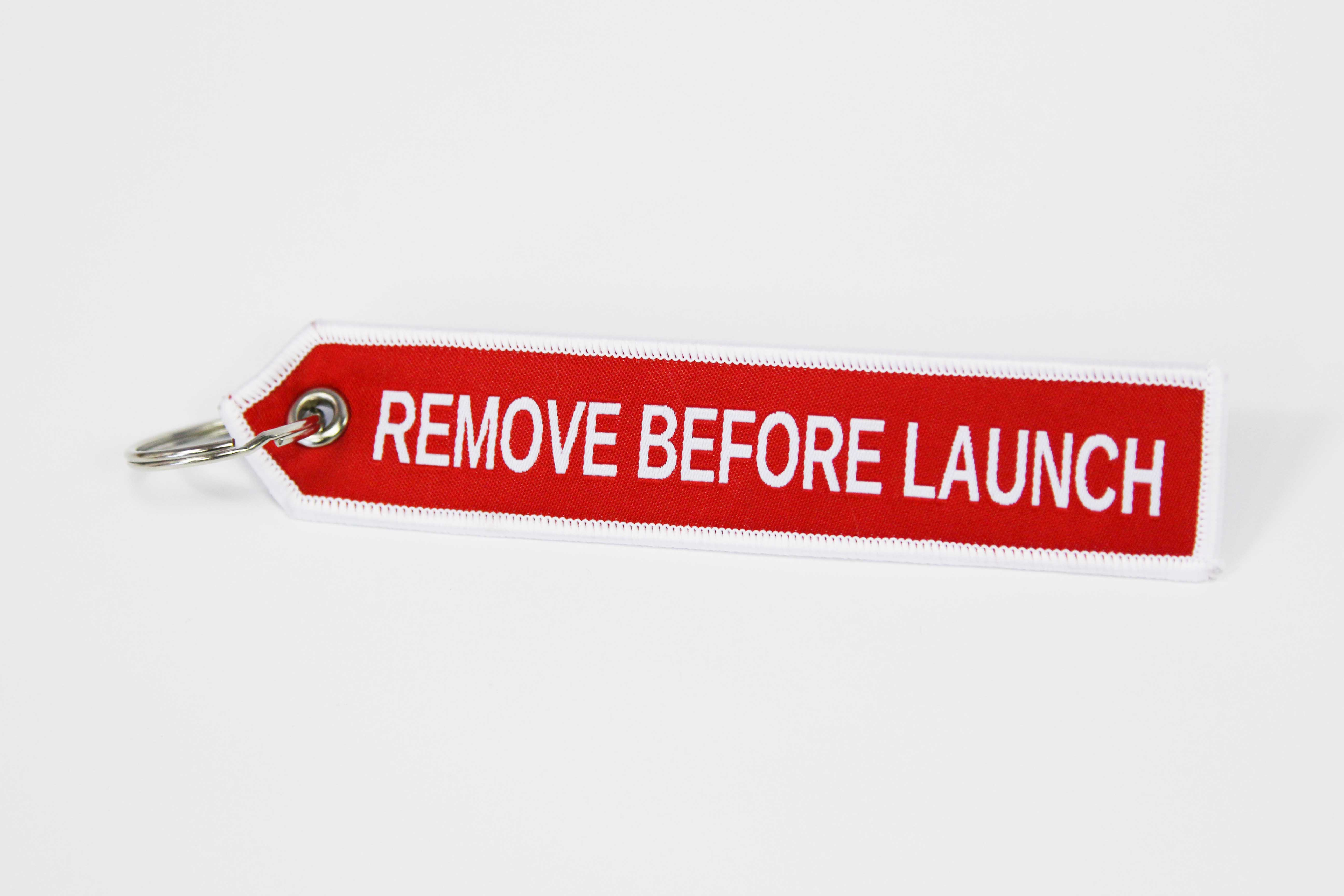 Брелок «Remove Before Launch»